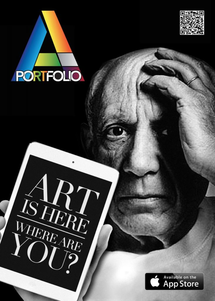 Artportfolio app apple Vernice art fair 2