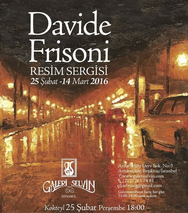 Davide Frisoni Istanbul