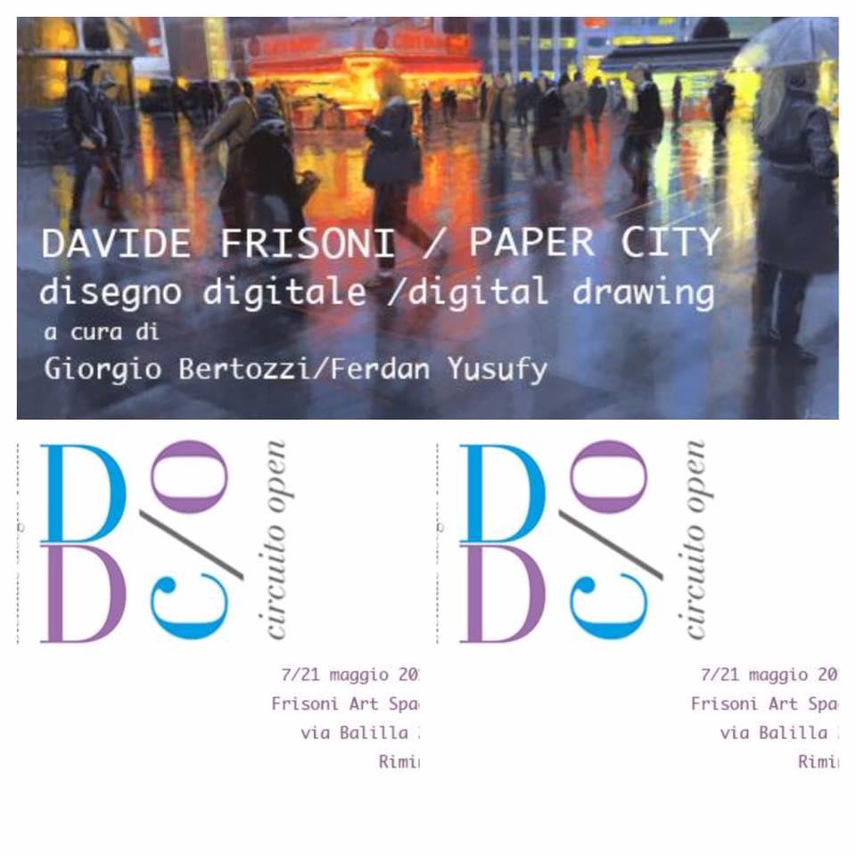 Giorgio Bertozzi Neoartgallery Davide Frisoni Paper City 9