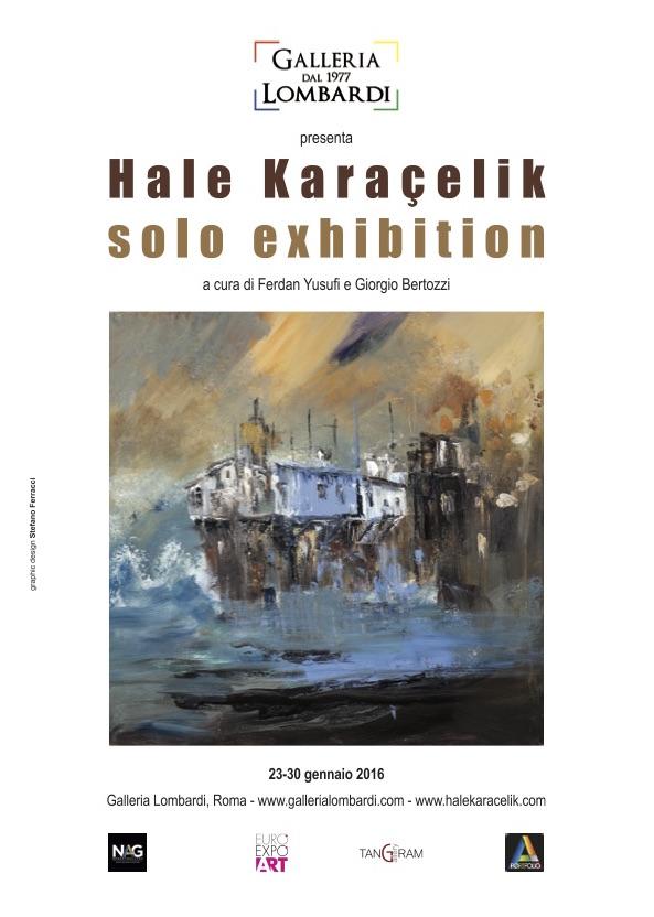 Hale Karaçelik   Solo Exhibition pubblicita art & art