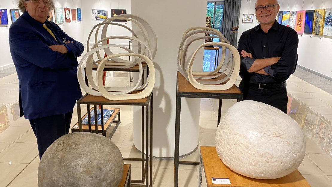 Sintesi 2001 dialoghi sulla contemporaneità Giorgio Bertozzi museo Crocetti Roma
