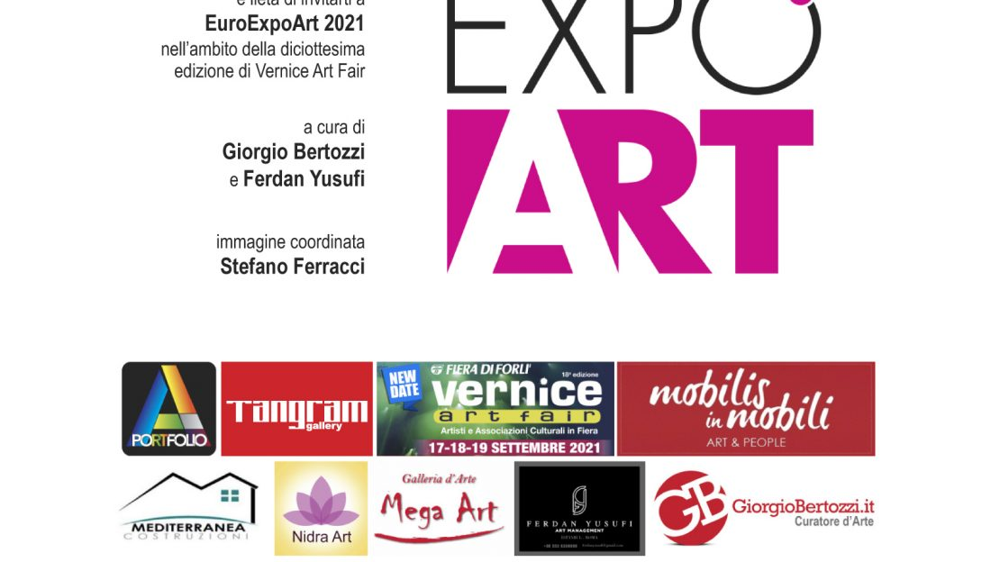 EUROEXPOART Giorgio Bertozzi neoartgallery Forlì Invito